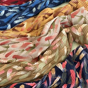 SHAWL FULL PLEATED PRINTED SHARMA