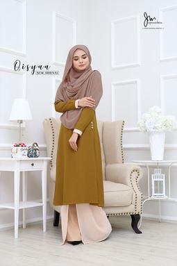 QISYAA ( Olive Gold )