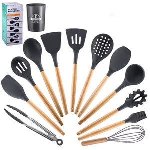 12 KITCHEN TOOLS - GRAY
