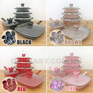 16pcs Unique Cookware Set