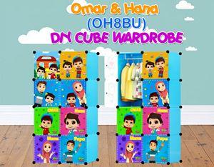 Omar & Hana BLUE 8C DIY WARDROBE (OH8BU)
