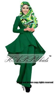 Palazo Set & Pucci For Mom - Green