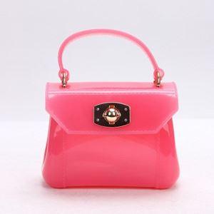 Pink Jelly Handbag