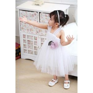 WHITE LOVEY BABY GIRLS  DRESS