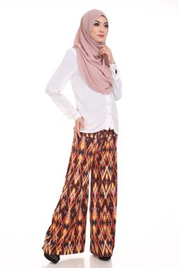 Palazzo Printed (Ethnic) Maternity Friendly with Adjustable Waistband