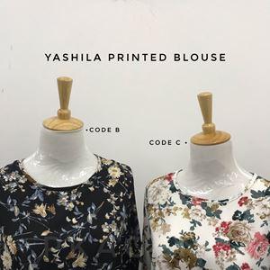YASHILA PRINTED BLOUSE