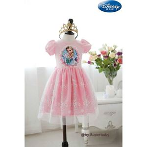 G 022/14 FROZEN PINK DRESS