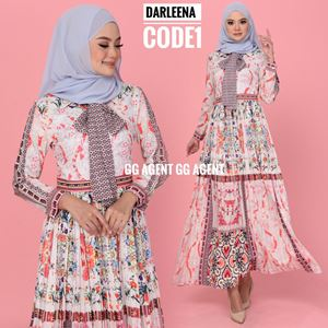 DARLEENA PLEATED DRESS