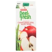 Marigold Peel Fresh Mixed Apple Aloe Vera Juice Drink 1.89 Liter