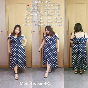 NC435 Ready Stock *Bust 92-140cm
