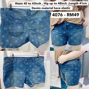 4076 * Ready Stock * Waist 40 to 43inch / 102 - 109cm