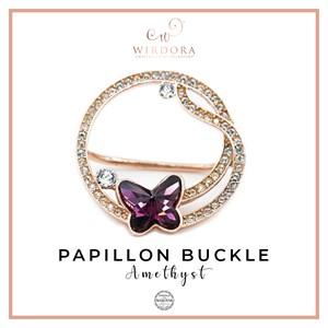 Buckle Papillon Amethyst