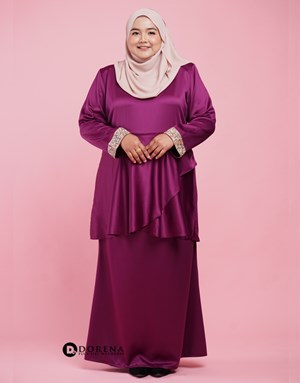 Kurung Azreen (Purple)