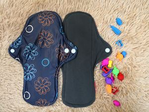 Cloth Pad - Floral (Self-confidence) Size L