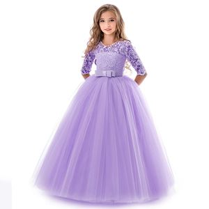 PRINCESS DRESS ( PURPLE ) SZ 130-170