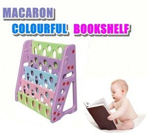 MACARON COLOURFUL BOOKSHELF N00526