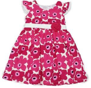 GYMBOREE DRESS ~ PINK FLOWER