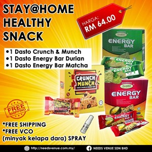 Stay@Home Healthy Snack
