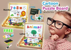 Cartoon  Puzzle Board