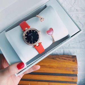 GUCC08 A01 GUCCI Elegant Watch Set (Watch + Bangle )