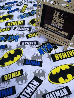 BATMAN WORD & LOGO