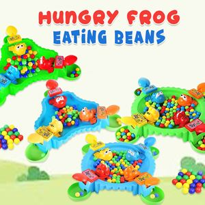 HUNGRY FROG EATING BEANS