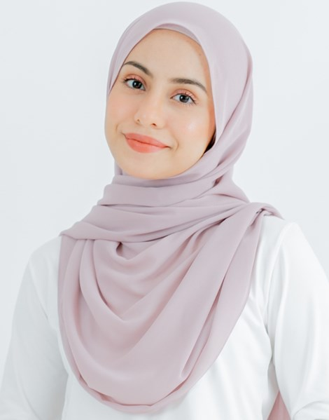 JENNA BASIC SHAWL IN TURKISH ROSE