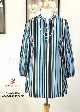 CAMELIA BLUE (Magic Blouse)
