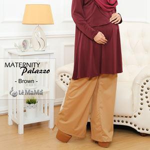 Maternity Palazzo : Brown