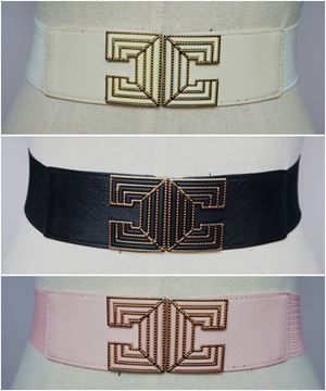 BLT45 - Plussize Stretch Buckle Belt