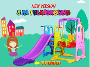 EXTEND VERSION 3 IN 1 PLAYGROUND N01047