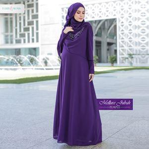 Mellur Jubah - Purple