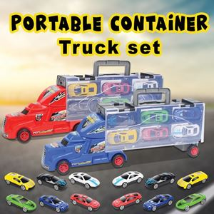 PORTABLE CONTAINER TRUCK SET