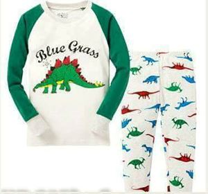 Pyjamas Blue Grass Dino