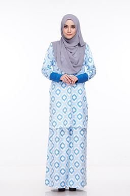 Baju Kurung Melissa (KM109) - Size XS, S, M, XL ONLY available