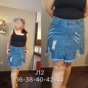 J12 *Ready stock Jeans skirt