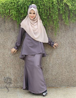 KURUNG SHASHA - BROWN GREY