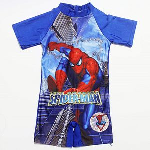 SPIDERMAN BLUE SWIM SUIT