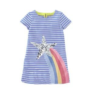 SEQUINS DRESS - STAR  ( SIZE 2Y-7Y )