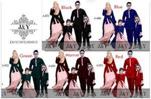 J & Y FAMILY SET ( 2T-7T ) & ( 8T - 12T ) & SAIZ ADULT( S/L/2XL )