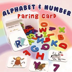 ALPHABET N NUMBER PARING CARD ETA 22 MARCH 19