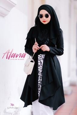 ALANA STYLISH BLOUSE BLACK