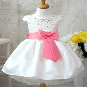 Pink Bow Princess Dress