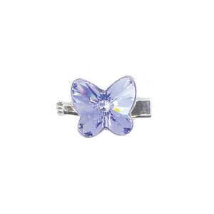 Brooch 3D Butterfly Luxe Provence Lavender