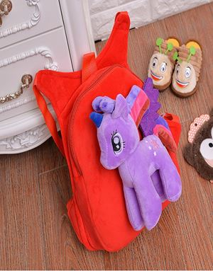 LITTLE PONY BAGPACK PURPLE RED-06