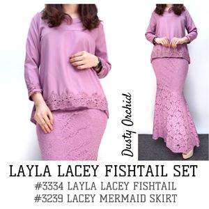 LAYLA LACEY FISHTAIL SET