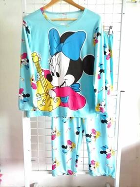 Pyjamas Dewasa Blue Minnie Violin