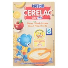 Nestlé Cerelac Rice & Mixed Fruits Infant Cereal with Milk From 6 Months 250g