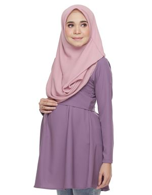 Alarra Blouse - Dark Purple