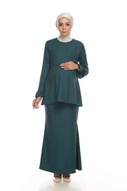 Sri Mahsurri Kurung - EMERALD GREEN